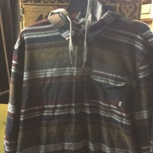 Vans XXL button up hoodie